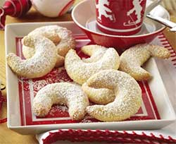 Weihnachten Vanillekipferl